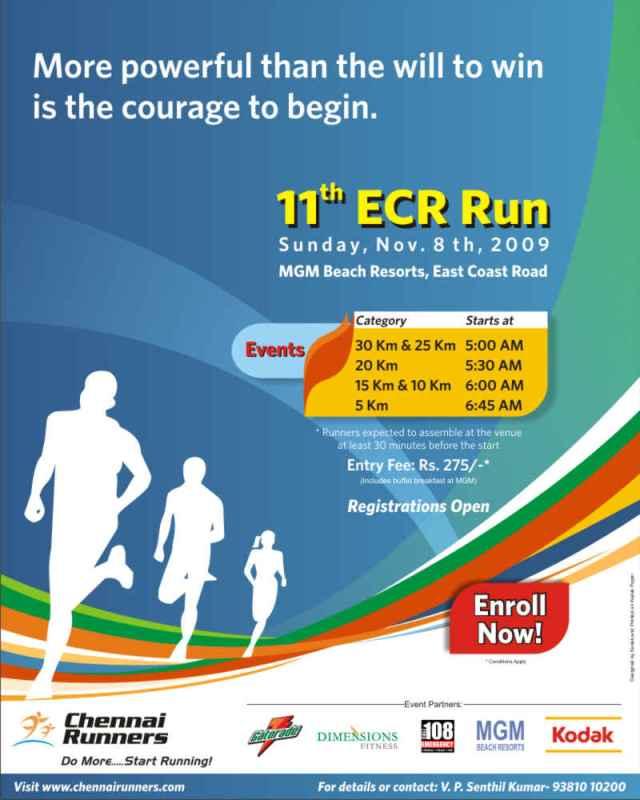 ECR Run!