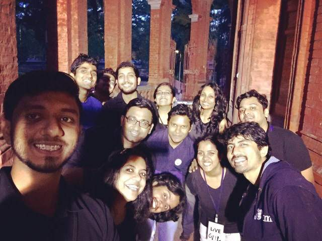 Team evam at #PokeME
